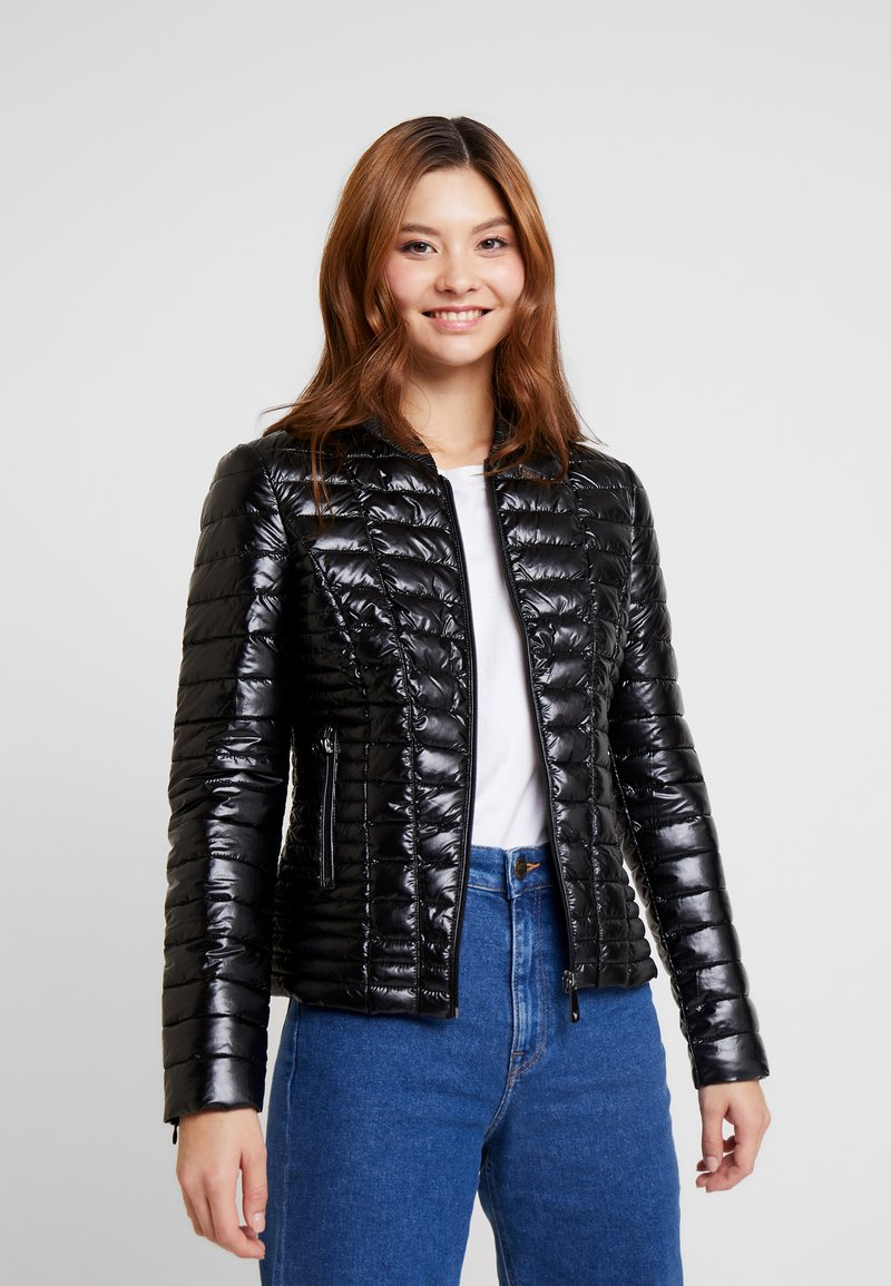 Guess - VERA JACKET - Light jacket - jet black