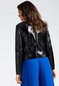 Guess - Faux leather jacket - black - 2