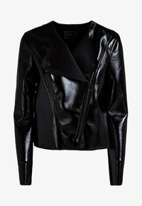 Guess - Faux leather jacket - black - 3