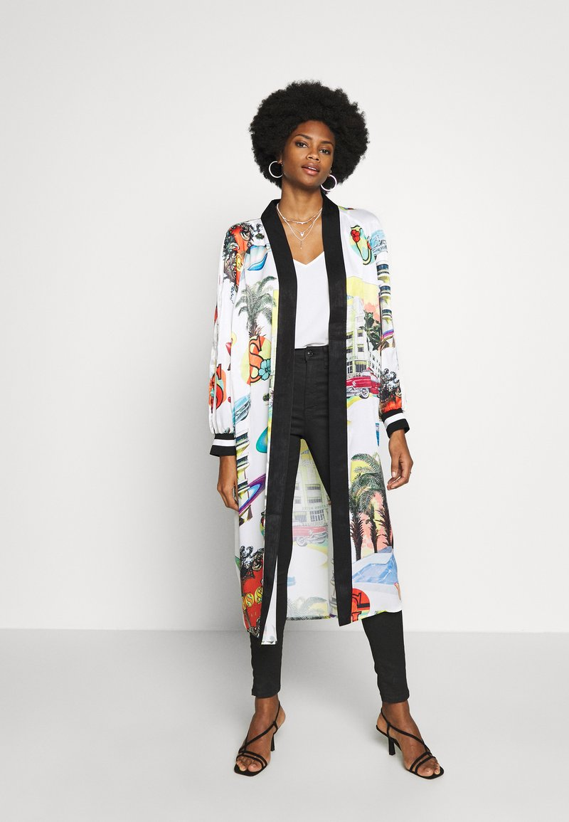 Guess - BONNIE LONG JACKET - Mantel - multi-coloured