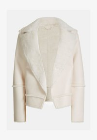 Guess - KUNSTFELL - Giacca invernale - creme - 5