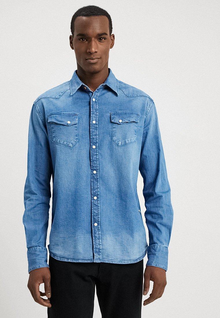 Guess - JARED - Skjorta - dark-blue