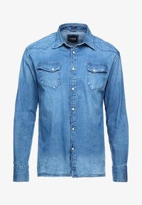 Guess - JARED - Skjorta - dark-blue - 5