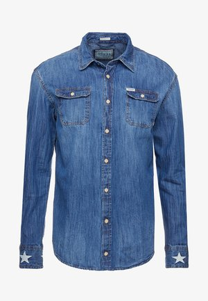 MOSES - Skjorte - blue denim