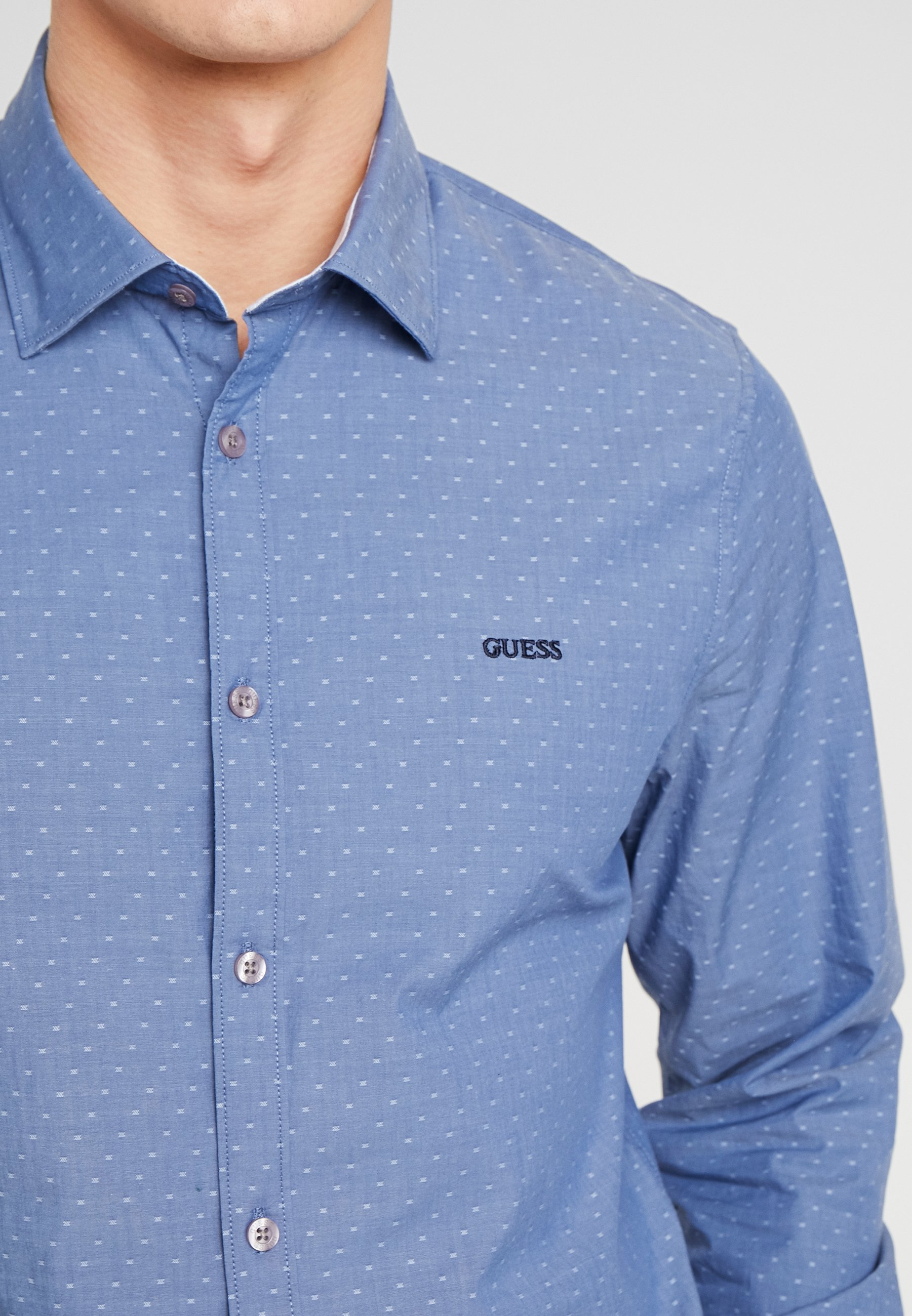 Guess ALAMEDA - Koszula - blue