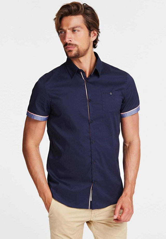 HEMD BAUMWOLLSTRETCH SLIM FIT - Camicia - blau