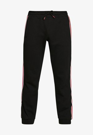 LEN PANTS - Spodnie treningowe - jet black