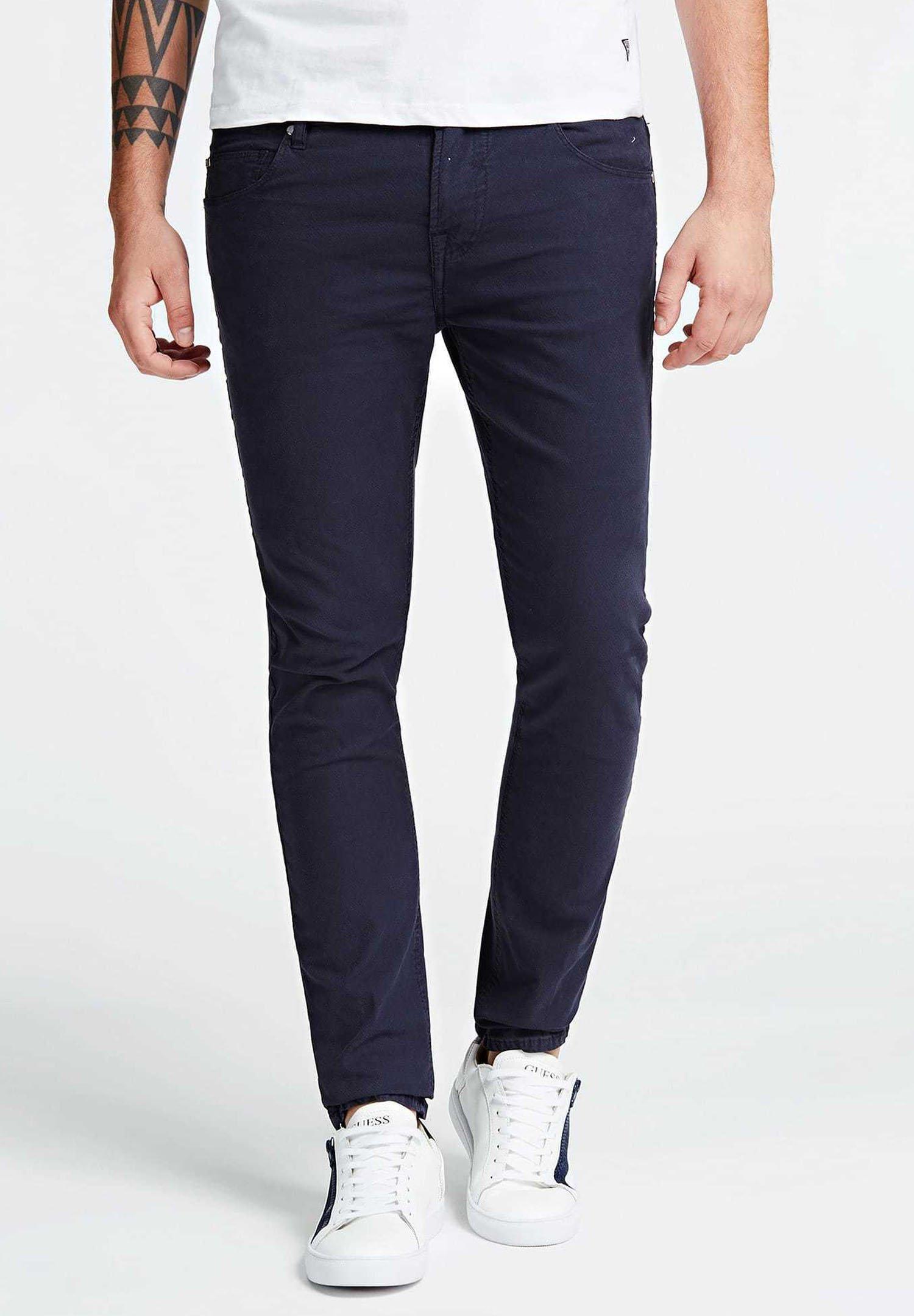 Guess GUESS SUPER SKINNY HOSE - Jeans Skinny Fit - dunkelblau