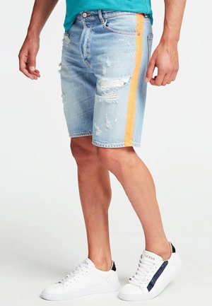 SHORTS DENIM RELAXED - Shorts di jeans - Multi blue