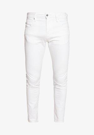 CHRIS - Jean slim - white denim