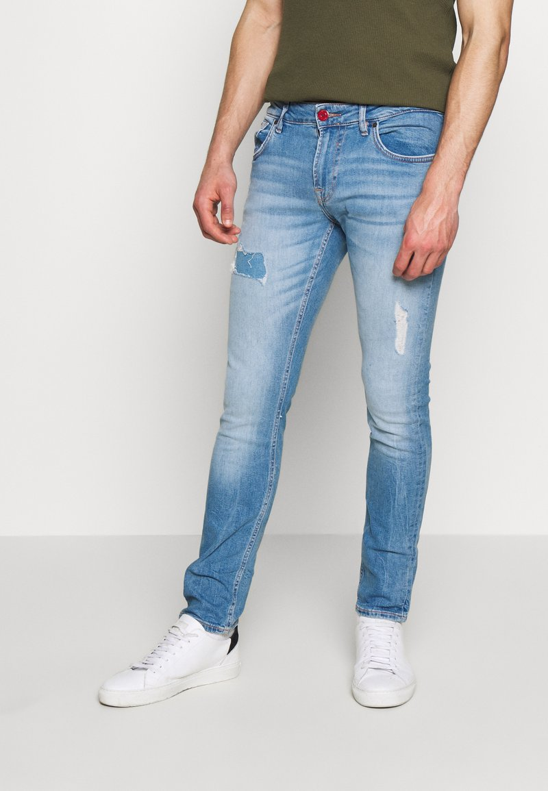 Guess - MIAMI - Jeansy Skinny Fit - light-blue denim