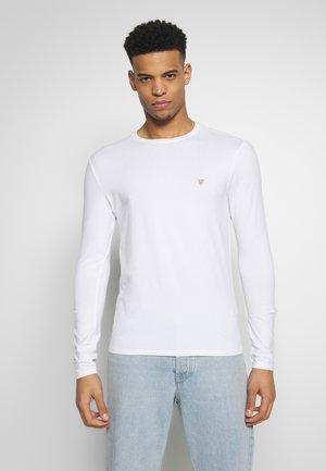 CORE TEE - Maglietta a manica lunga - true white