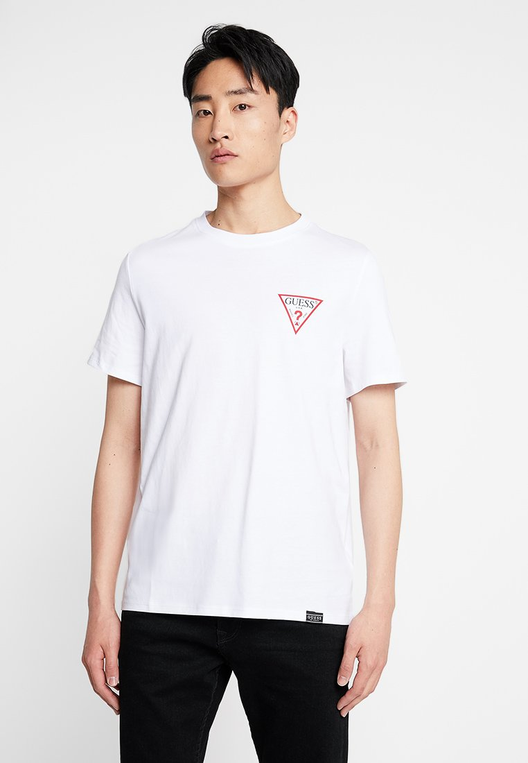 Guess - DRIVE OFF TEE - T-shirt print - true white