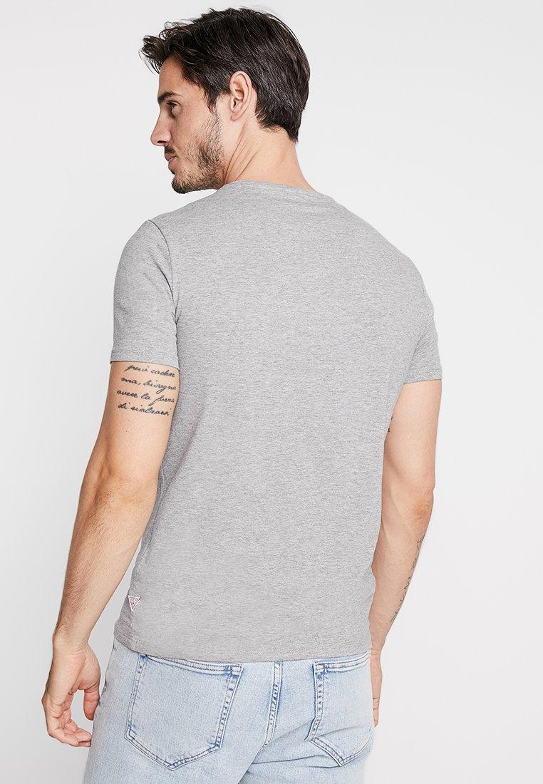 shirt StripeT Guess Imprimé Grey Stars Stone Heather HIWED29