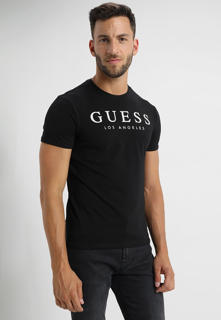 Guess - CN ORIGINAL GUESS - T-Shirt print - jet black