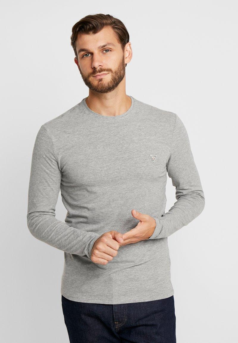 Guess - CORE TEE - Langarmshirt - stone heather grey
