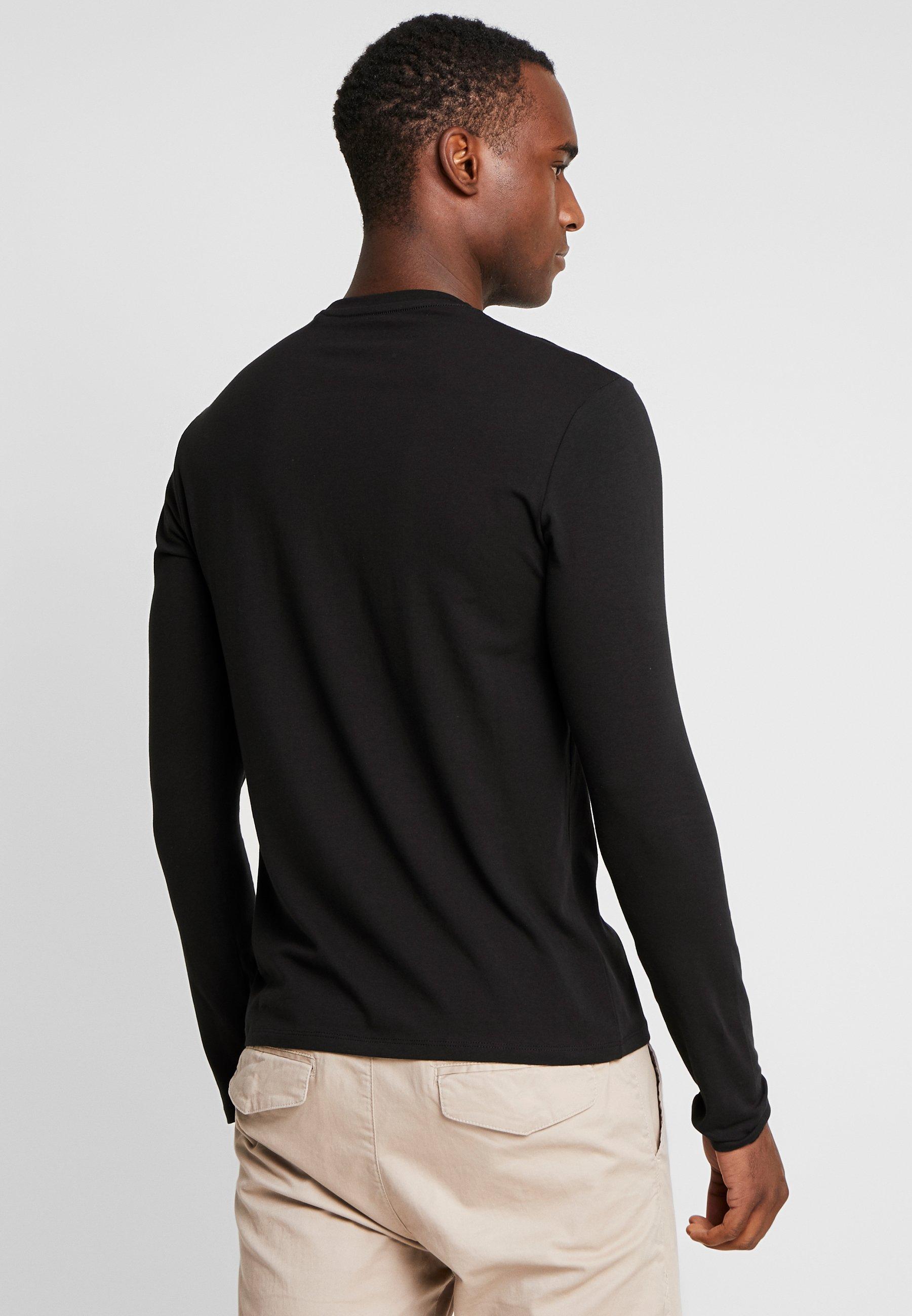 Guess shirt Black Core Longues Jet TeeT À Manches WH2DE9IY