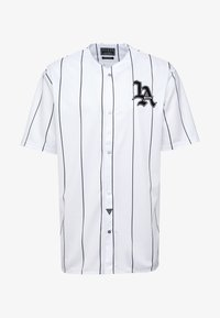 Guess - BASKET SHIRT - Overhemd - white/black - 4