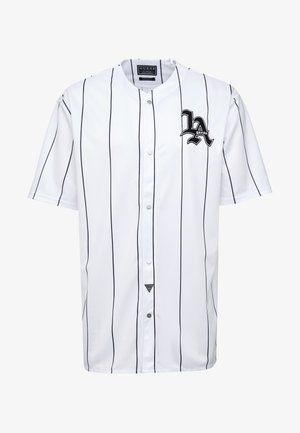 BASKET SHIRT - Skjorta - white/black