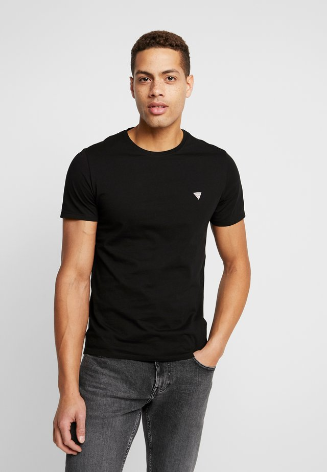 CORE TEE - T-shirt basic - jet black