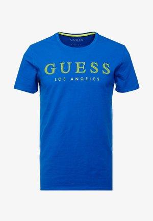 NAMED TEE - T-shirts med print - blue maya
