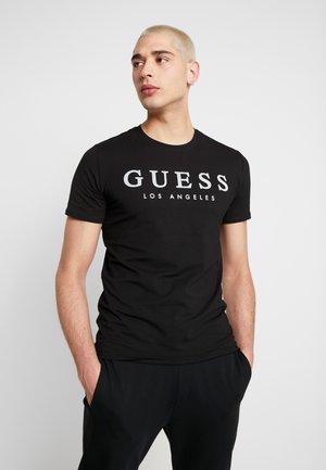 NAMED TEE - T-shirt print - jet black