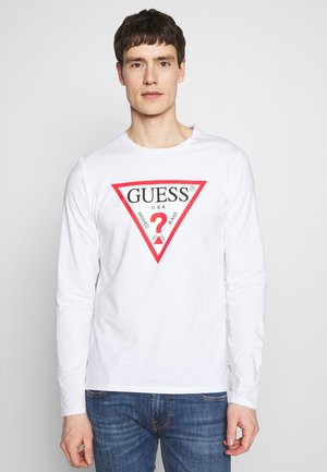 ORIGINAL LOGO TEE - Langarmshirt - white