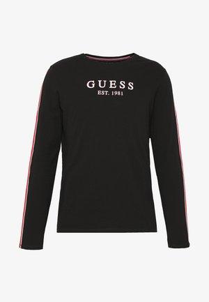 BAND TEE - T-shirt à manches longues - jet black