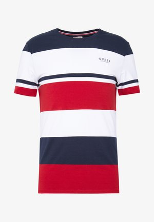 STICK TOGETHER - T-shirt con stampa - macro stripes red