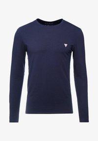 Guess - CORE TEE - Maglietta a manica lunga - blue navy - 4
