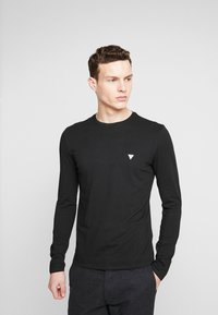 Guess - CORE TEE - Long sleeved top - jet black - 0