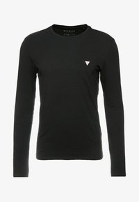 Guess - CORE TEE - Long sleeved top - jet black - 4