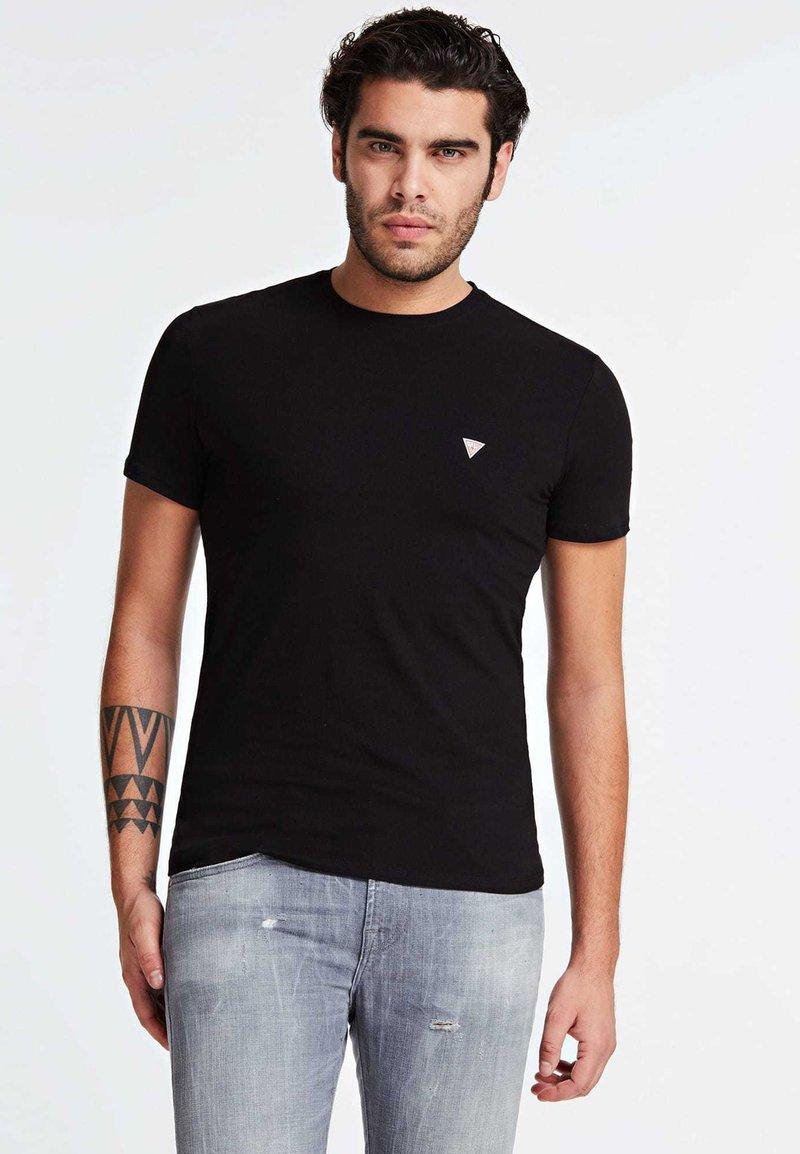 Guess - T-shirt basic - black