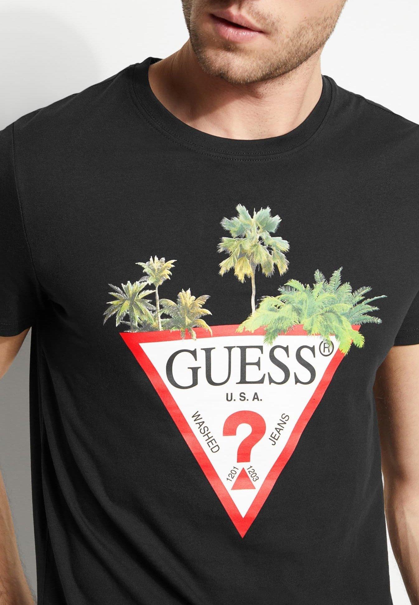 tee shirt guess zalando