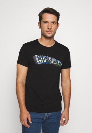 EXPRESS TEE - T-shirt con stampa - jet black