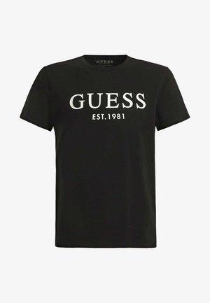 T-SHIRT FRONTLOGO - T-Shirt print - black