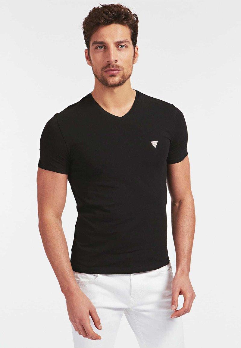 Guess - A$AP ROCKY - T-shirt basic - schwarz
