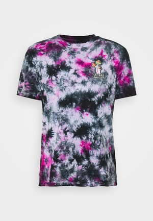 CAMOU - T-shirt imprimé - black
