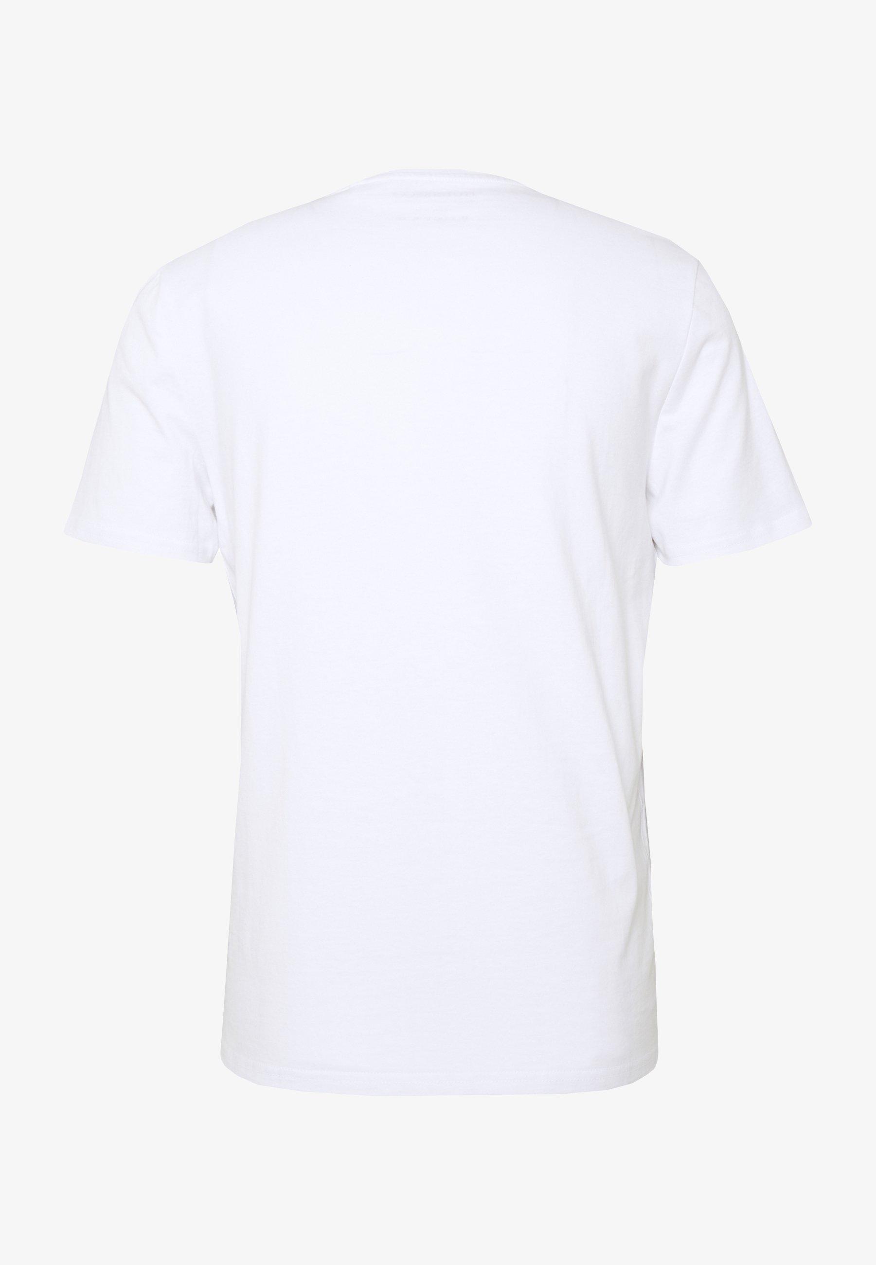 Guess ORIGINAL LOGO - T-shirt con stampa - blanc pur