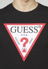 Guess - ORIGINAL LOGO - T-shirt con stampa - jet black - 5