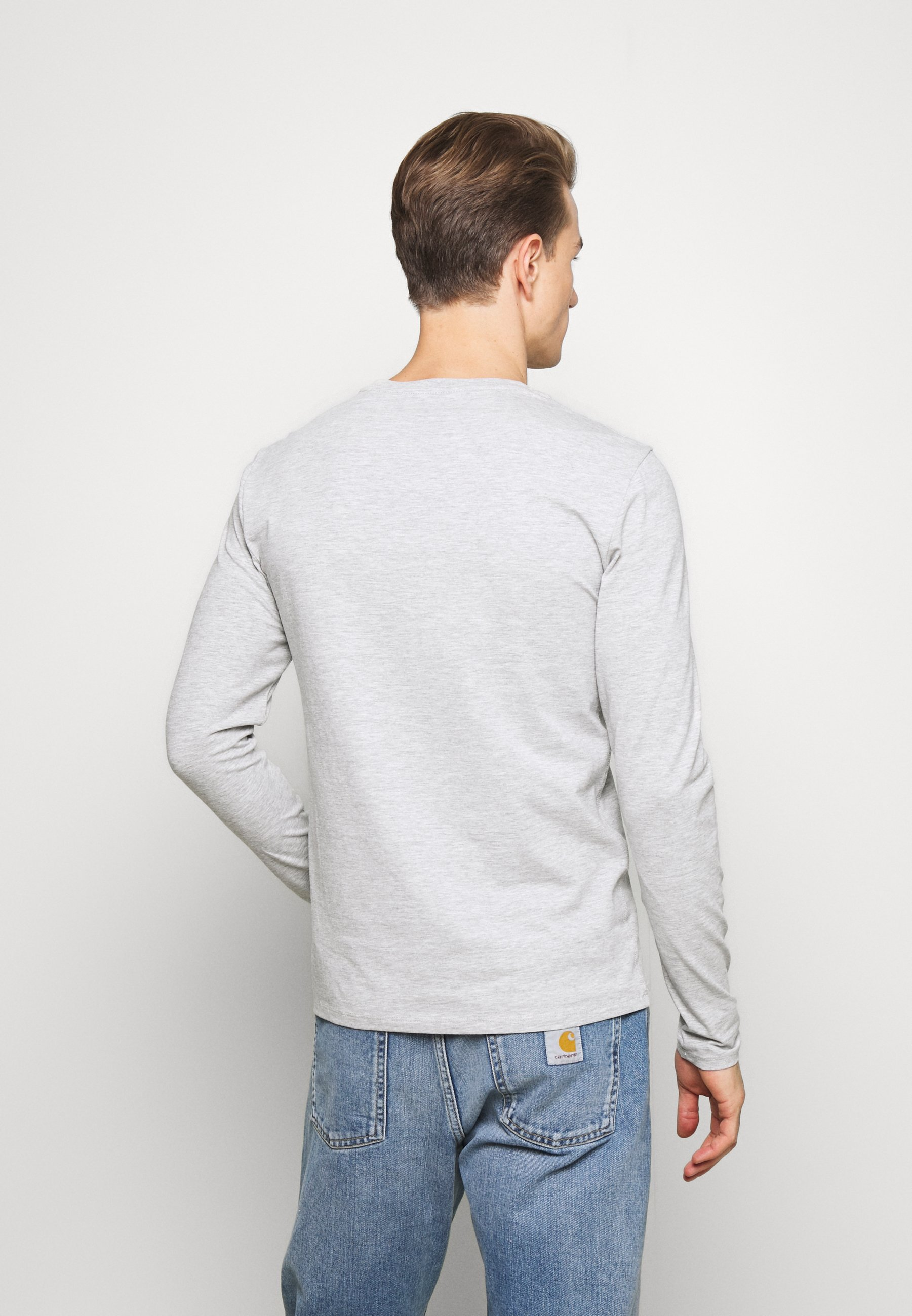 Guess CORE TEE T shirt à manches longues light heather