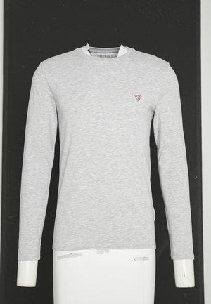 CORE TEE - Top sdlouhým rukávem - light heather grey