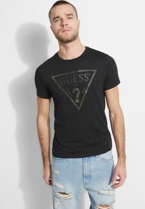 LOGODREIECK - T-shirt basic - schwarz
