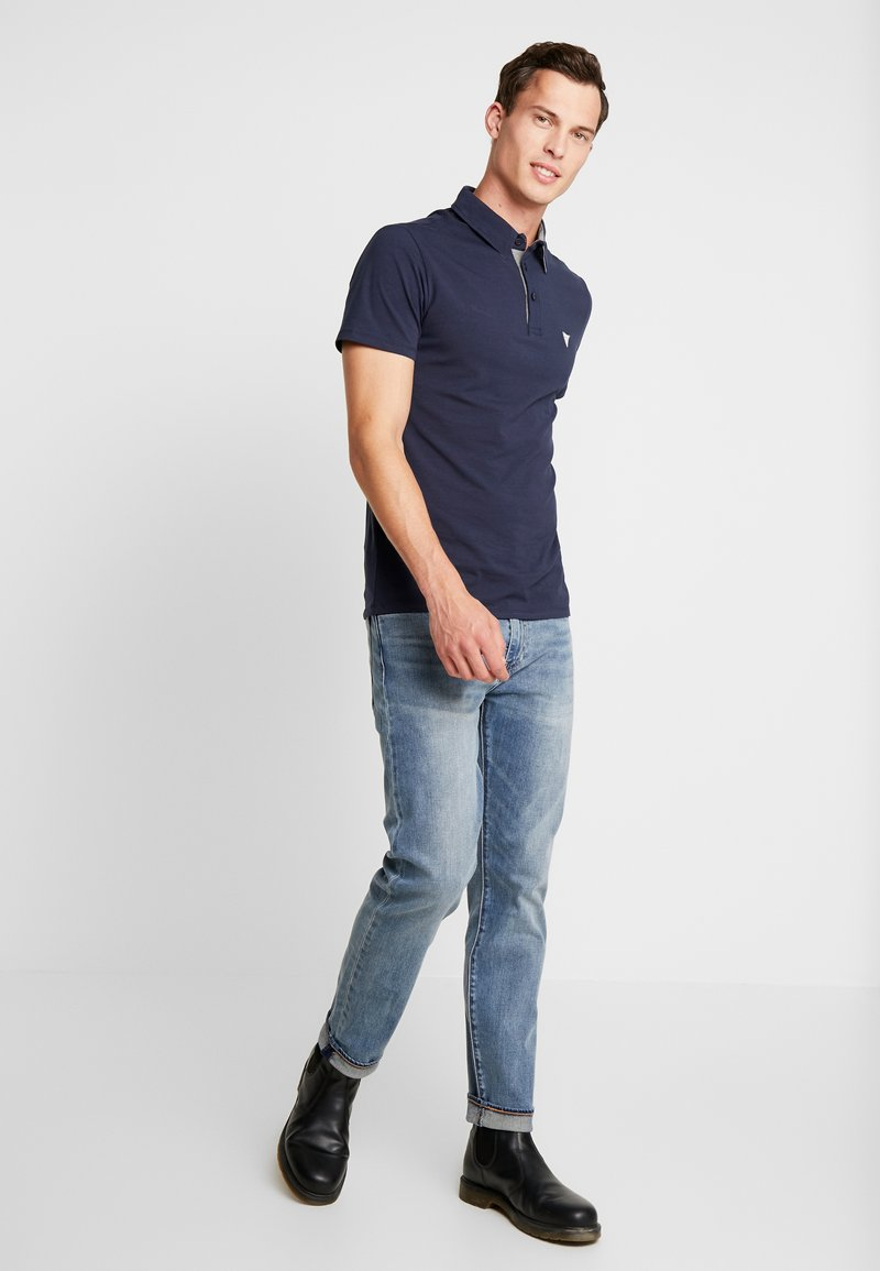 Guess - DYLAN - Polo - blue navy