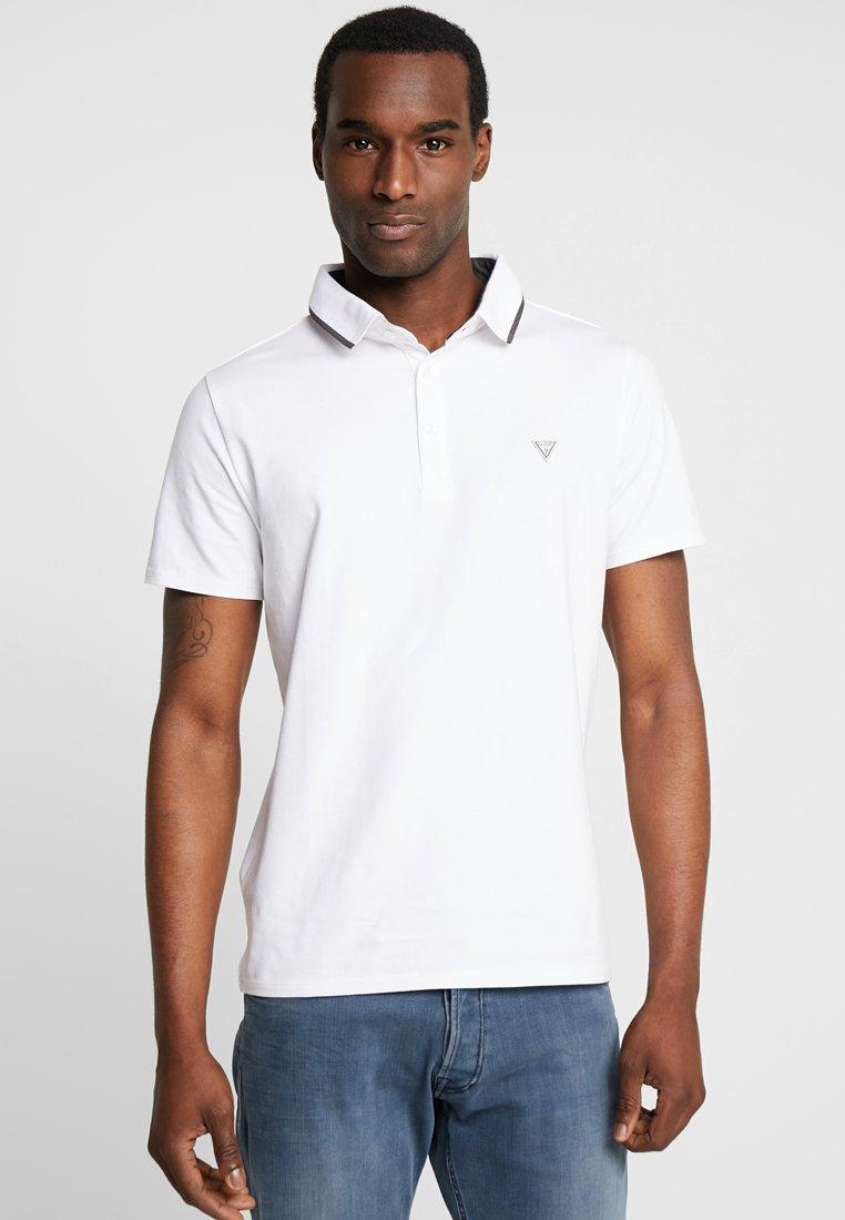 Guess - WALT  - Poloshirt - true white