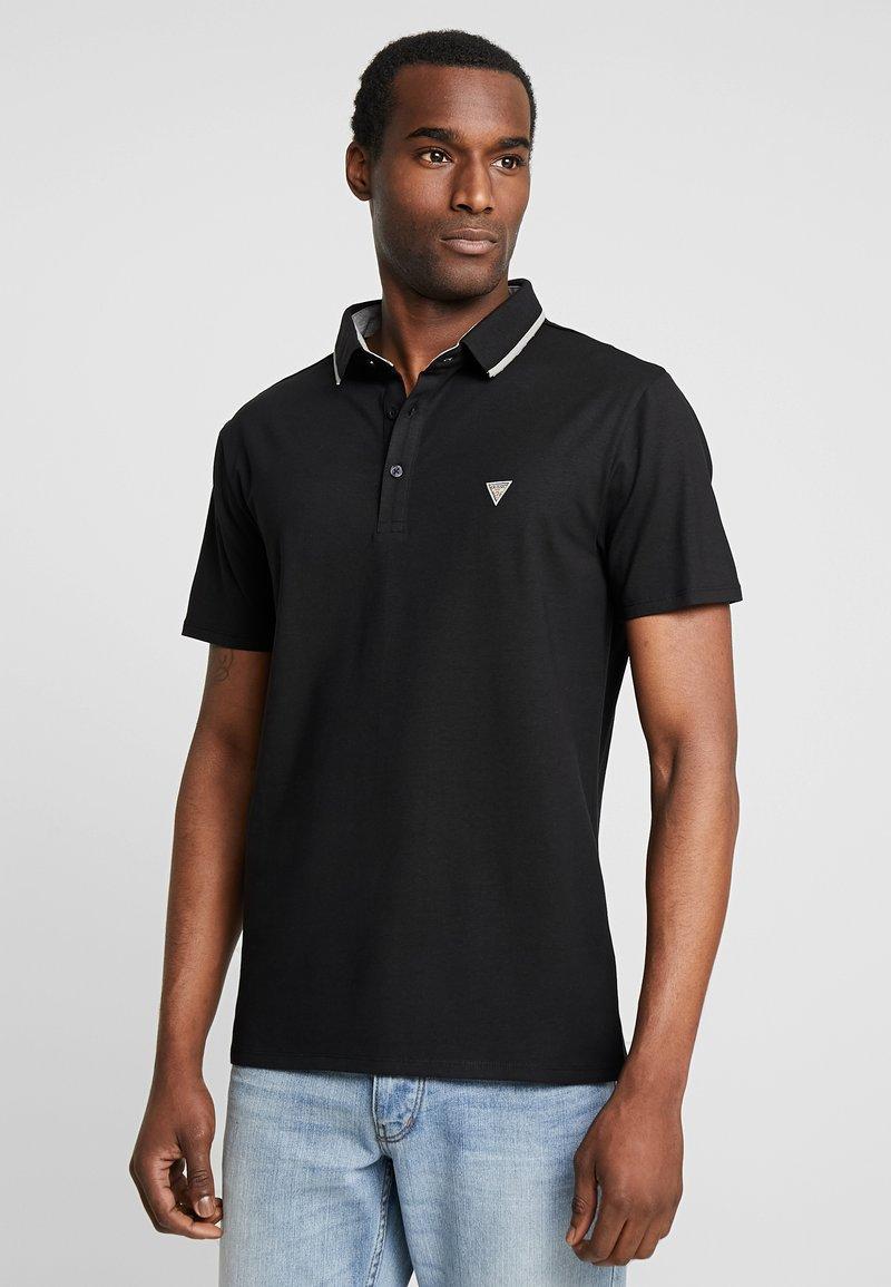 Guess - WALT  - Koszulka polo - jet black