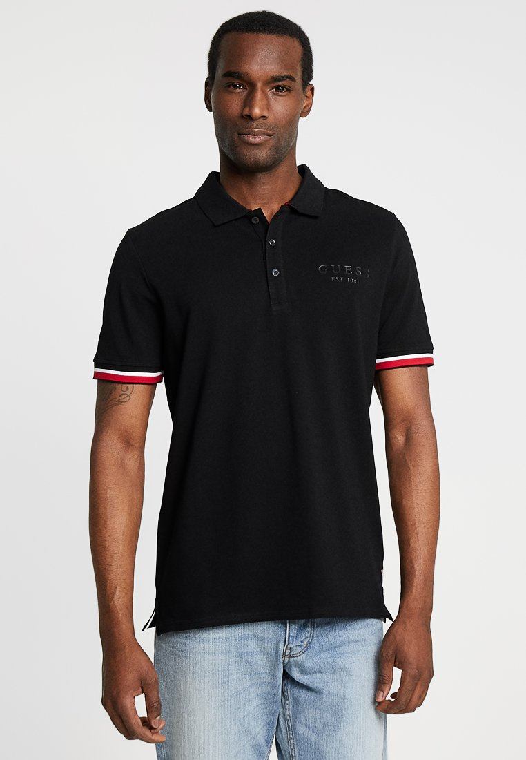 Guess - DIGBY  - Polo - jet black