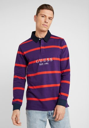 CODY LONGSLEEVE - Poloskjorter - purple/orange