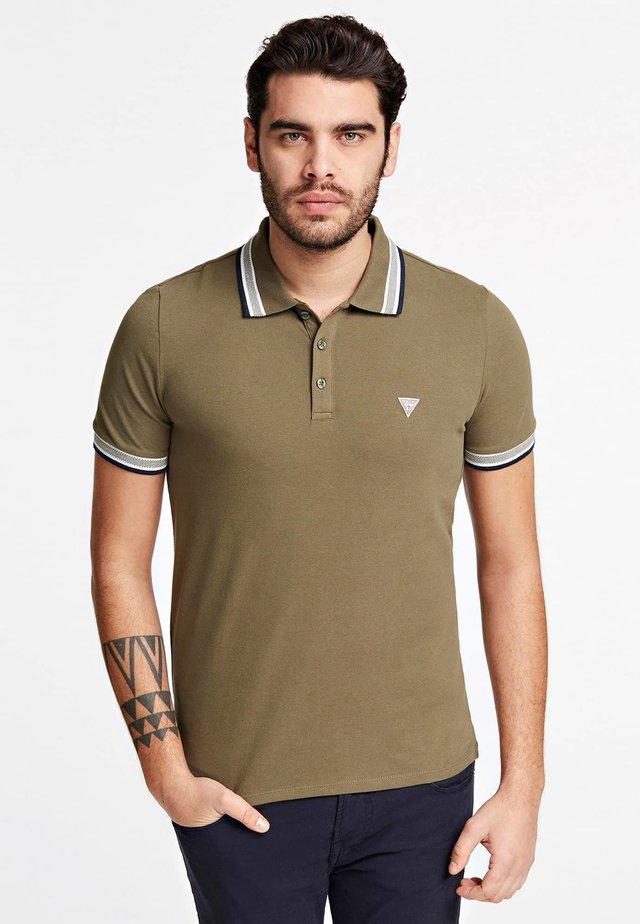 GRADY SS POLO - Poloshirt - verde