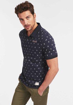 POLO LOGO ALL-OVER - Koszulka polo - noir multi